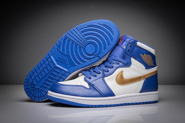 sports shoes 0784d 28840 ... order air jordan retro 1 2018nike air jordan 1 bleu et blanche et og  pour homme