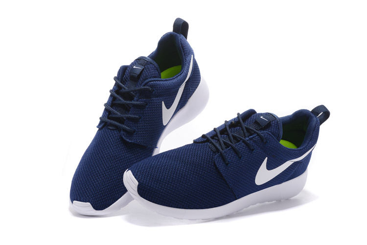 premium selection 2ba42 2f737 Blanche Homme Nike Run One Et Bleu nike Basket Roshe 7q8ZnAq